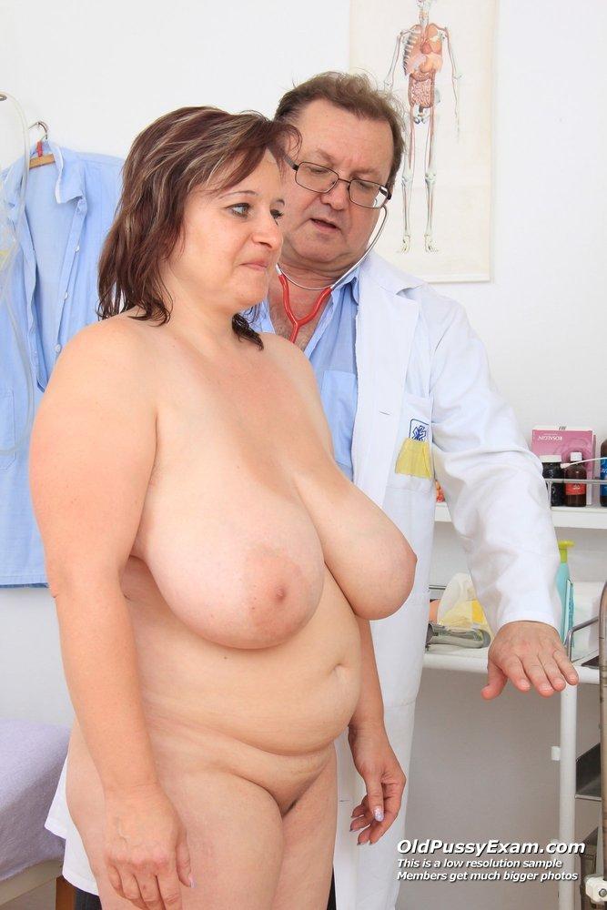 Breast exam for older women